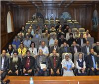 مجلس كنائس الشرق الأوسط يعقد لقاء مسكونيا بطنطا