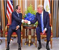 ترامب يهنئ الرئيس السيسي بذكرى 23 يوليو