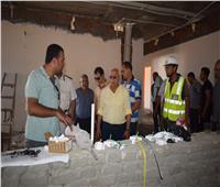 الانتهاء من 60 % من إنشاء الكورنيش الجديد بقناة الاتصال في بورسعيد