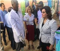 نائب وزير الزراعة تتعرض لحادث سير خلال زيارة لمحافظة المنيا