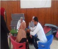 جامعة حلوان تنظم قافلة طبية بـ«مركز شباب غرب»