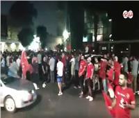 فيديو| زلزال جماهيري في الجزيرة بعد تتويج الأهلي بالدوري