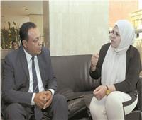 حوار| ابتسام العريبي: نطالب بتسليم الملف الليبى بالكامل إلى مصر