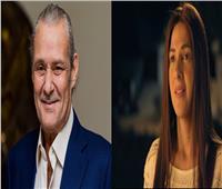 دنيا سمير غانم تنعي أحمد الفيشاوي في وفاة والده