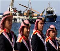 صور  الأردن يفتتح معرض للمركبات العسكرية تحت الماء