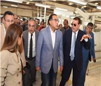 رئيس الوزراء يتفقد مشروع وحدتي تحسين النافتا بشركة الإسكندرية الوطنية للتكرير