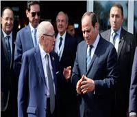 السيسي يعزي الشعب التونسي في وفاة «السبسي»