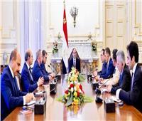 الرئيس السيسي يلتقي وزراء منتدى غاز شرق المتوسط