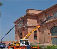 صور  بدء أعمال تطوير الموقع العام لـ«المتحف المصري بالتحرير»