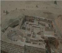 نقل جزء من حمام تل الحير الأثري بشمال سيناء لمتحف شرم الشيخ