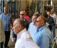 وزير قطاع الأعمال العام يتفقد مصانع شركة راكتا لصناعة الورق