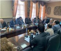 رئيس الجمارك يلتقي أعضاء اللجنة الفرعية لتيسير التجارة