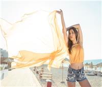 صور  اللمسات الأخيرة على عرض أزياء نجوى زهران بالساحل الشمالي