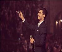 صور  محمد عساف لجمهور مهرجان جرش «أنتم أهل للفرح و المحبة»