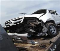 إصابة ٦ أشخاص في انقلاب سيارة بطريق وادي النطرون الضبعة الصحراوي