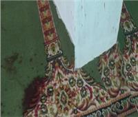 دماء داخل المسجد!