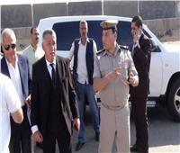 مدير أمن المنوفية يفاجئ الخدمات الأمنية بمركز السادات
