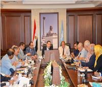 محافظ الإسكندرية: تكثيف أعمال النظافة والتجميل بالمدينة