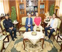 محافـظ المنوفية يُهنئ مدير الأمن الجديد بتوليه مهام منصبه