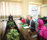 «مصر للطيران» الناقل الرسمي لأسبوع القاهرة الثاني للمياه CWW