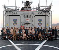 «رماية بالذخيرة الحية» و«معركة تصادمية» بالتدريب البحري المصري الأمريكي المشترك