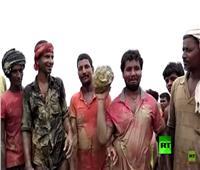 فيديو| سقوط نيزك بحجم كرة قدم في أحد حقول الأرز بالهند