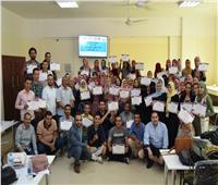 تدريب٣٠٠ طالبا على ريادة الأعمال بجامعة سوهاج