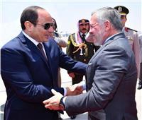 صور| قمة مصرية أردنية بين الرئيس والملك عبدالله بقصر الاتحادية