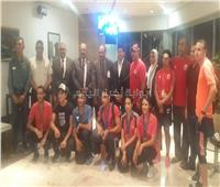 بعد 7 ميداليات إفريقية.. وزير الرياضة يستقبل بعثة منتخب الدرجات