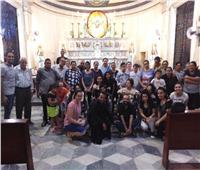 أجراس الأحد ... كنيسة العائلة المقدسة بالفيوم تختتم مؤتمرها السنوي