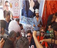وصول «هاني شاكر» مقر انتخابات نقابة الموسيقيين