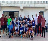 مسئولو الشباب والرياضة يشهدون المعسكر الختامي للاعبين الموهوبين في كرة القدم