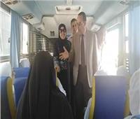محافظ شمال سيناء يودع حجاج الجمعيات الأهلية من العريش