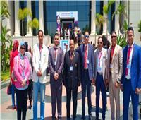 وفد من جامعة المنيا يشارك بالمؤتمر الوطني السابع للشباب بالعاصمة الإدارية