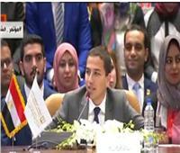 ممثل رئيس الوزراء بنموذج المحاكاة: الحكومة وضعت مصر على طريق التنمية