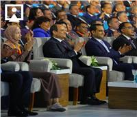صور| أهم لقطات الجلسة الافتتاحية للمؤتمر الوطني السابع للشباب