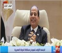 بالفيديو| «كله رفع رفع».. كوميكس «البنزين» يضحك الرئيس السيسي