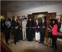 افتتاح معرض الفنان التشكيلي سعد متري بالمركز الثقافي القبطي الأرثوذكسي