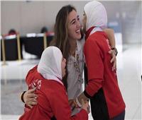 هادية حسني: تدريب فريق الريشة بالأولمبياد الأفضل في حياتي