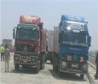 منع مرور النقل الثقيل أعلى كوبري النيل القديم وطريق السادات في بني سويف