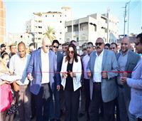 صور| شارع «٣٠٦» يصل كورنيش النيل بدمياط