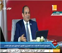 السيسى: ننفق 800 مليون جنيه لإزالة المخلفات بمصر سنويا