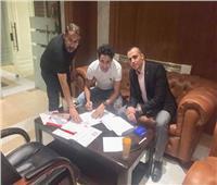 صور| رسميًا.. المقاصة يتعاقد مع محمد إبراهيم لموسمين