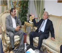 «فودة» وسفير أذربيجان يبحثان تعزيز العلاقات في المجال السياحي