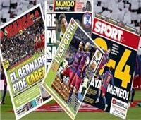 ثلاثية بنزيما واتفاق نيمار وبرشلونة على رأس اهتمامات الصحف الإسبانية
