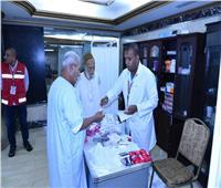 الصحة: لا أمراض وبائية بين الحجاج المصريين و20 حالة في مستشفيات السعودية