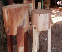 فيديو | رحلة تصنيع الأورمة  من الشجر لـ  «محلات الجزارة»