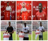 فيديو| تعرف على القيمة التسويقية للصفقات الجديدة لقطبي الكرة المصرية