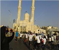 تعليم البحر الأحمر تنظم ماراثون دراجات لتنشيط السياحة