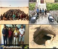 ضبط 18 قنبلة معدة للتفجير و20 دانة و392 ألف قرص مخدربشمال سيناء